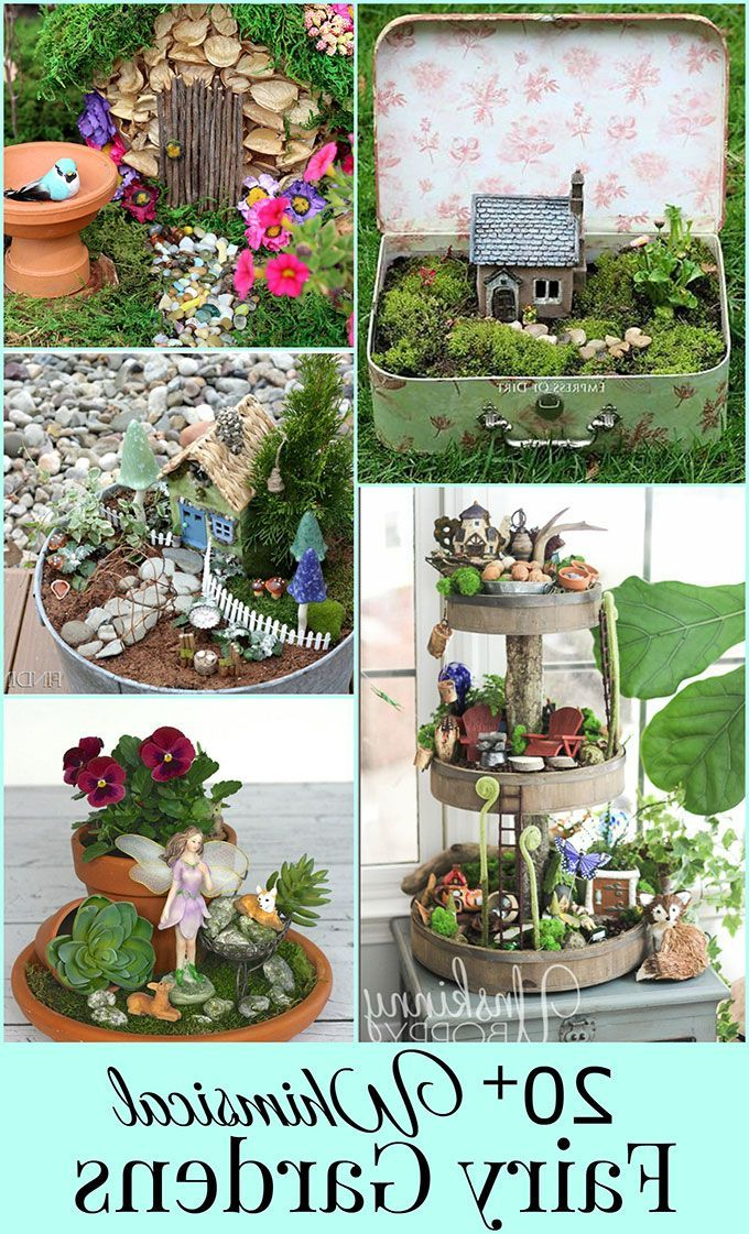 20 Whimsical Diy Miniature Fairy Garden Ideas With Images