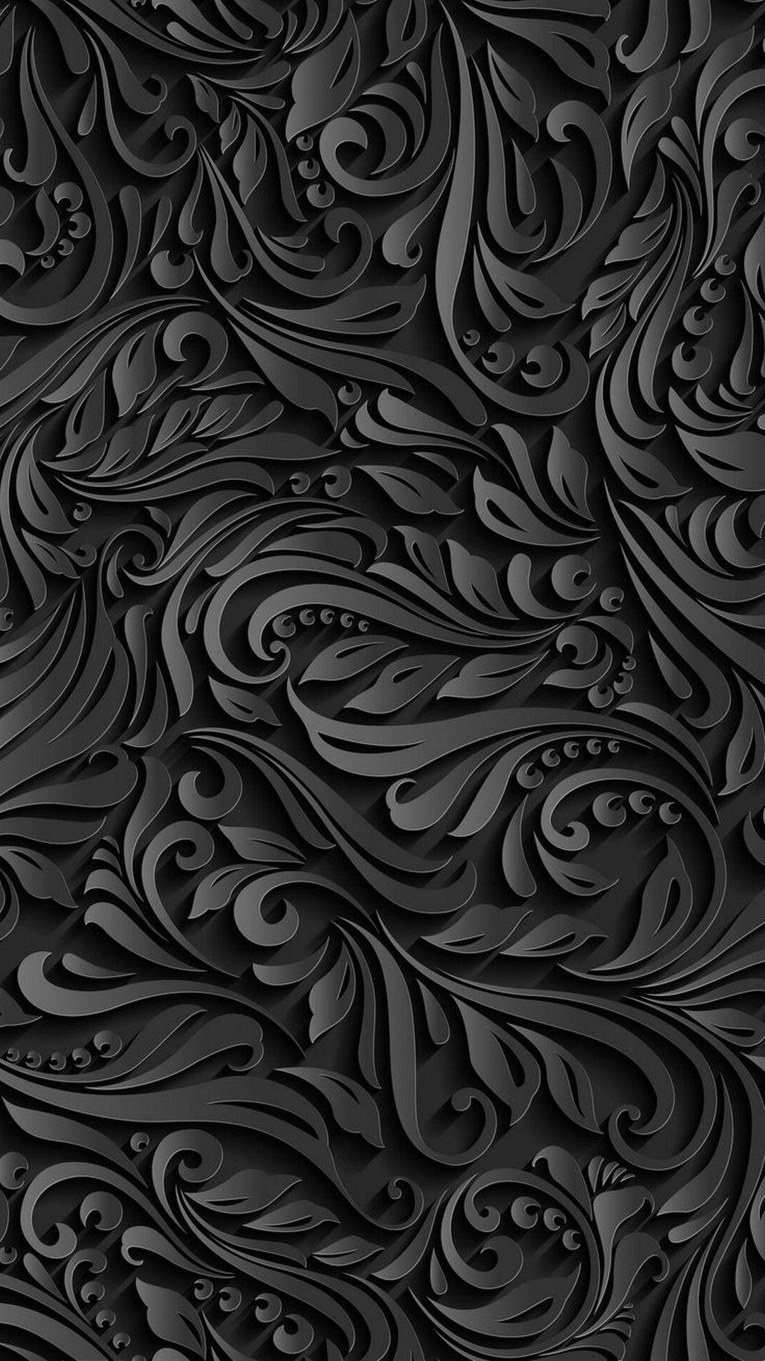 2018 Download Black Pattern Iphone Wallpaper Full Size
