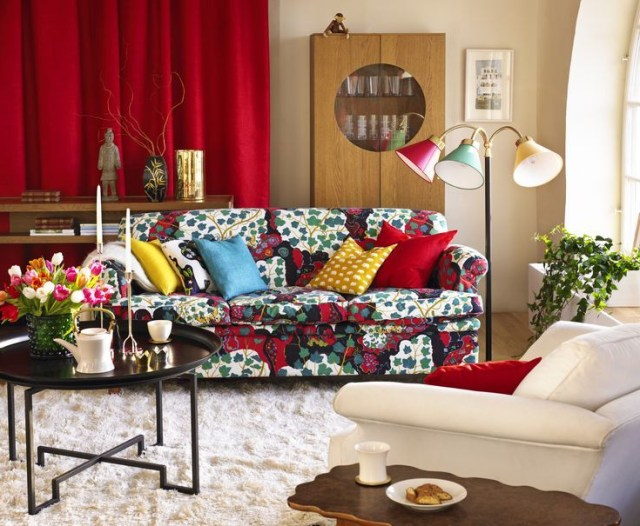 21 Inspiring Ideas For A Colorful Living Room Colourful