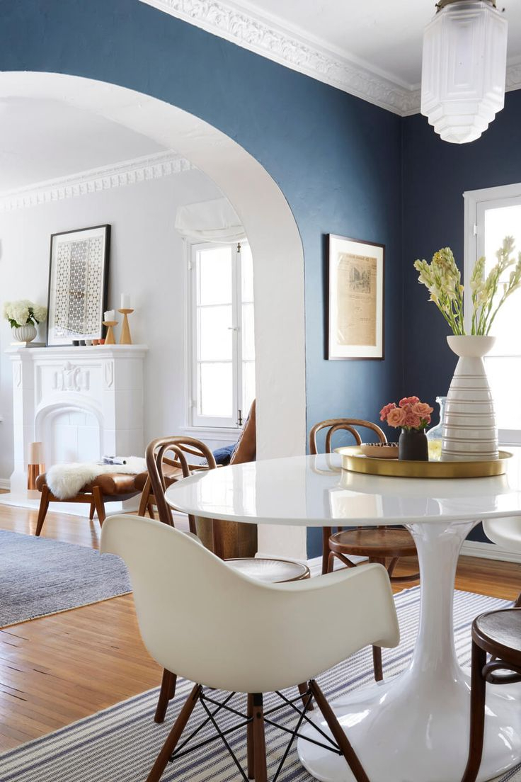 21 Living Room Ideas With Blue Accents For Your Home