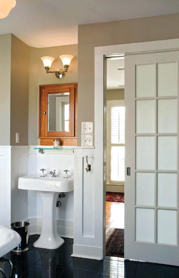 22 Ravishing Bathroom Door Ideas You Should Try