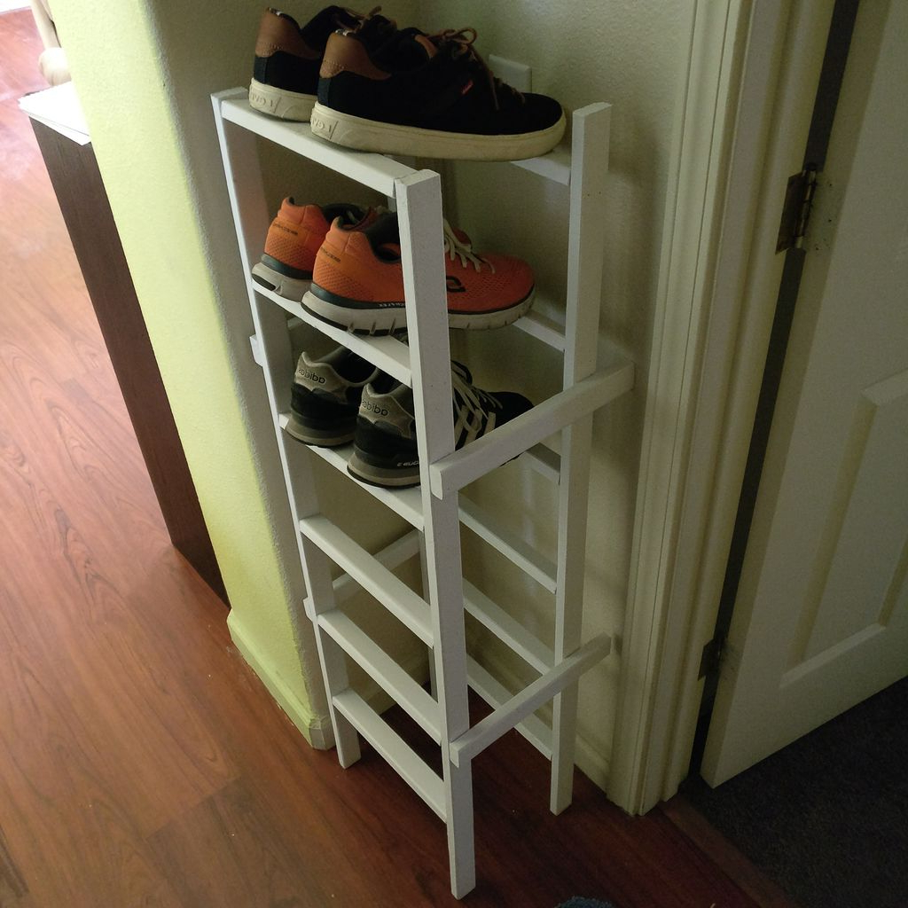 23 Smart Diy Shoe Rack Ideas Top Reveal