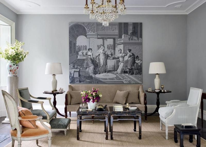 23 Superbly Refined Gray Living Room Designs Rilane