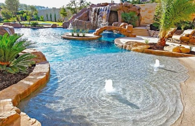 25 Best Mind Blowing Beach Entry Pool Ideas Amazing