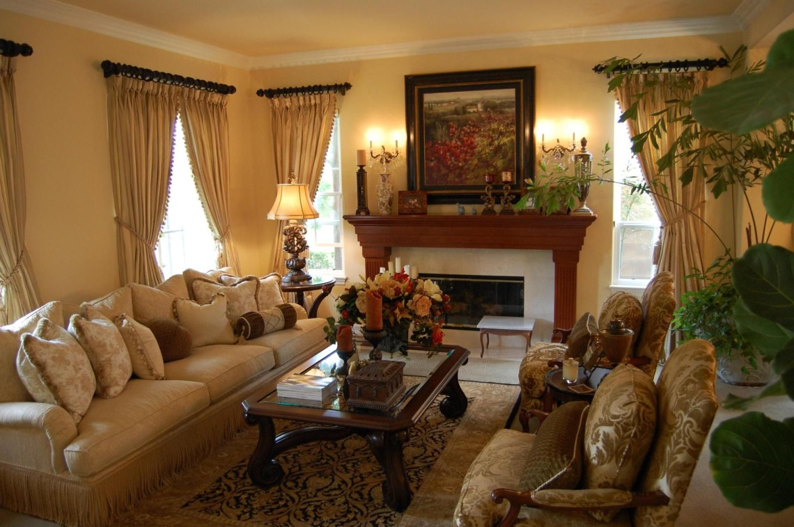 25 Best Traditional Living Room Designs French Country