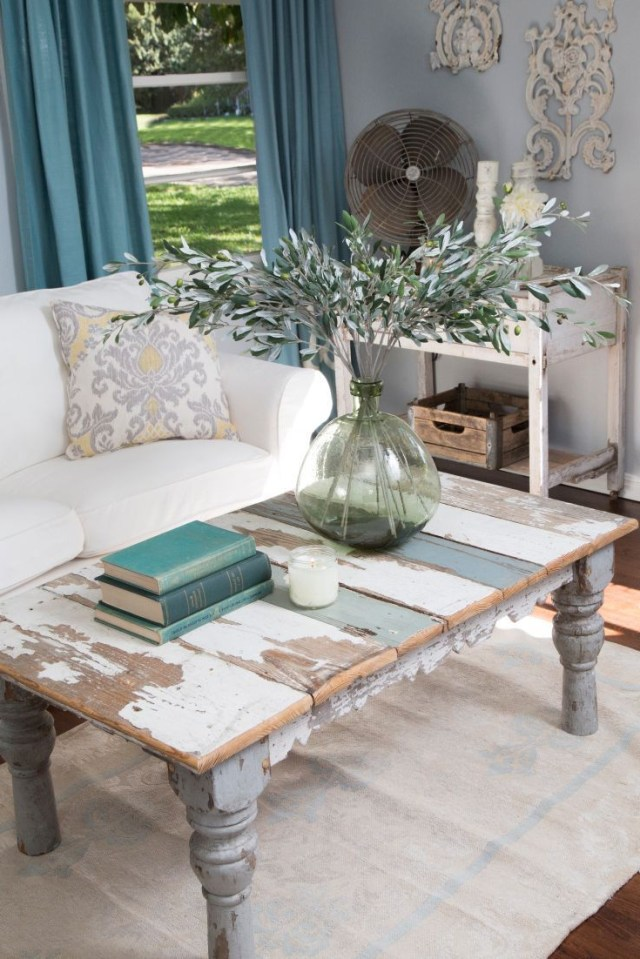 25 Charming Shab Chic Living Room Designs Interior God