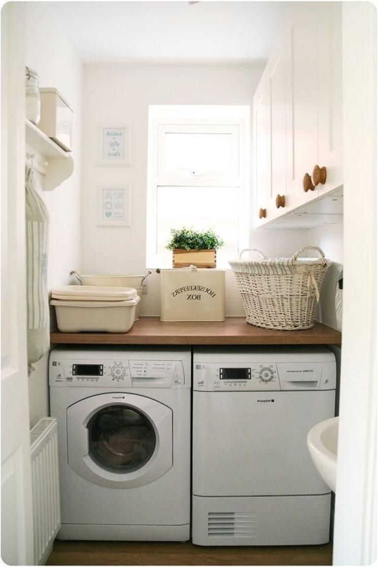 25 Cozy Laundry Room Ideas With Images Tiny Laundry