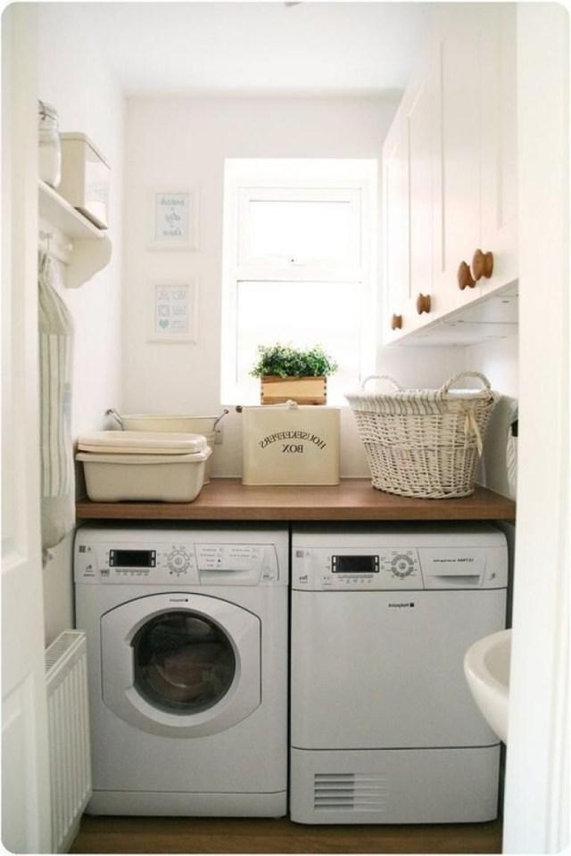 25 Cozy Laundry Room Ideas With Images Tiny Laundry