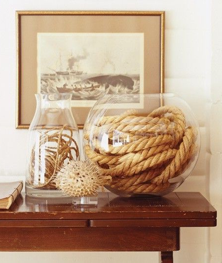 25 Diy Ways Of Using Rope For A Vintage Look Decor Home