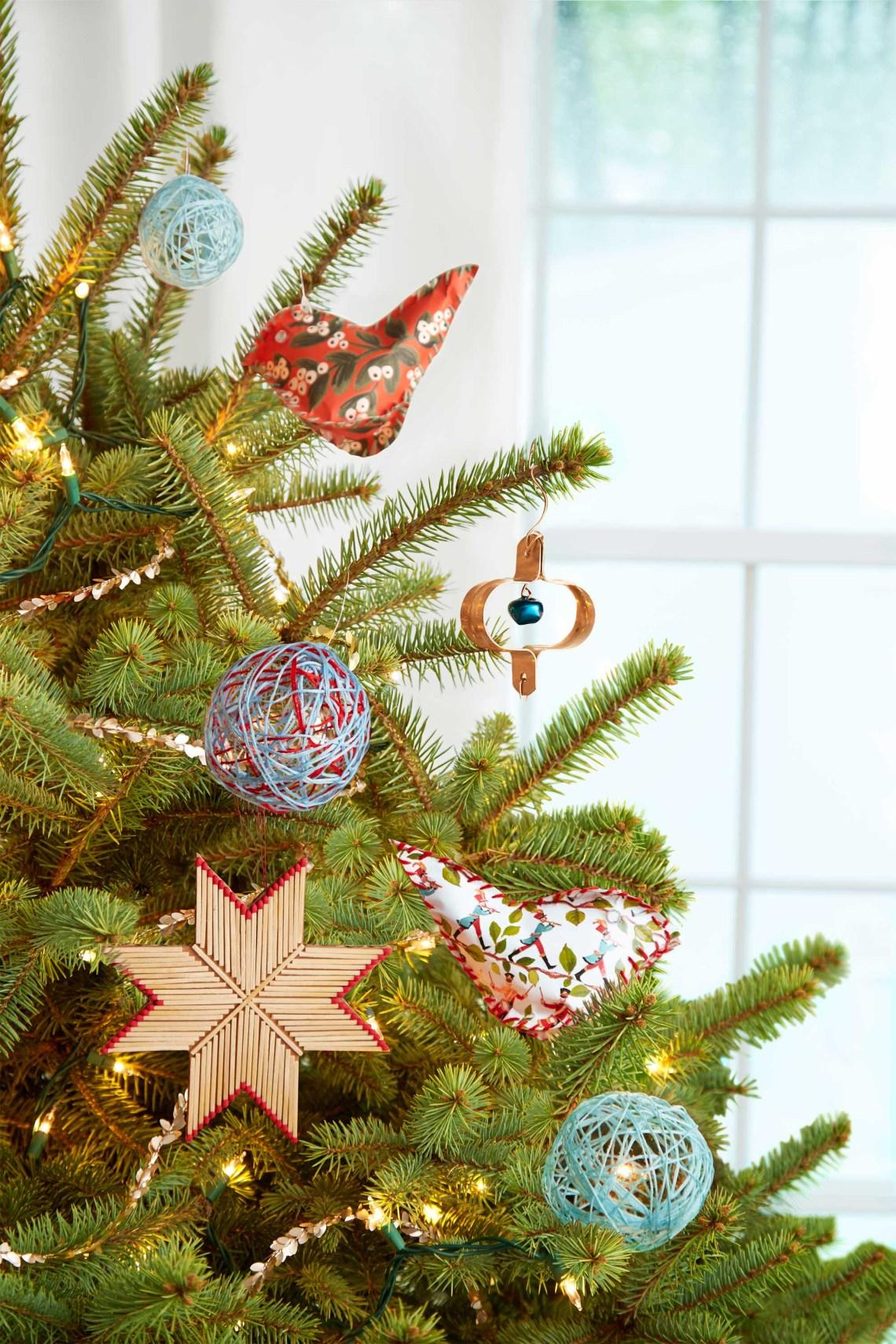 25 Homemade Diy Christmas Ornament Craft Ideas How To