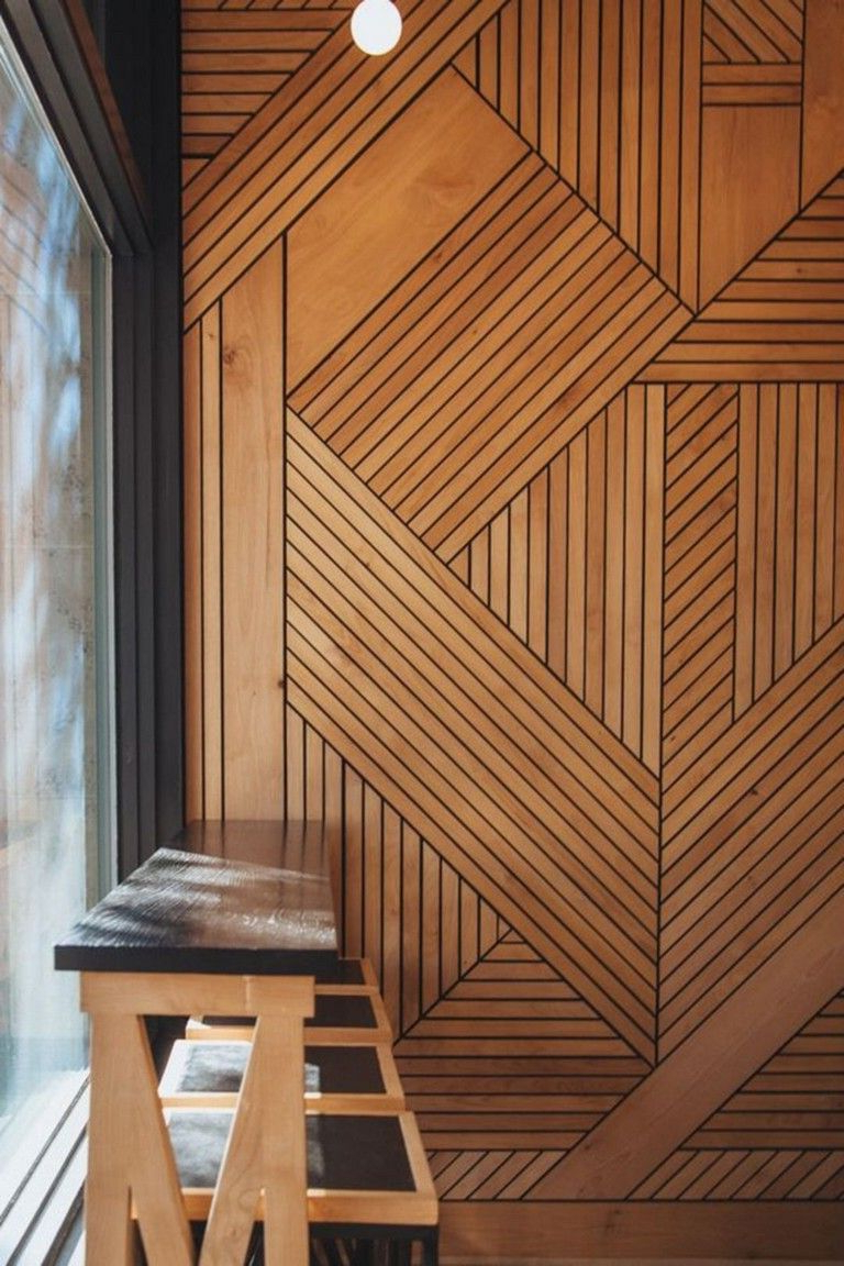 25 Stunning Wood Wall Covering Ideas For Amazing Home