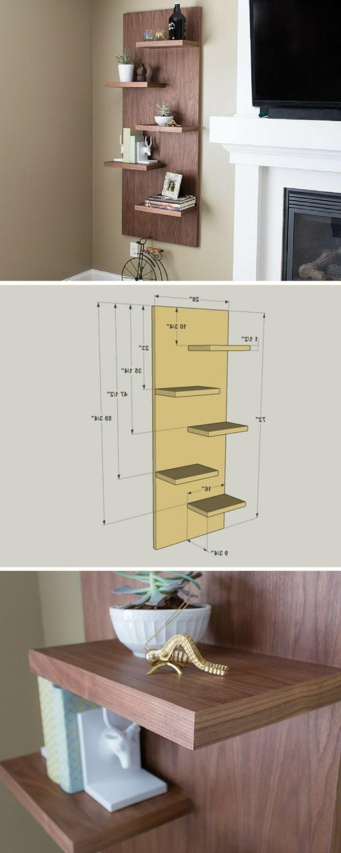 27 Best Diy Floating Shelf Ideas And Designs For 2020