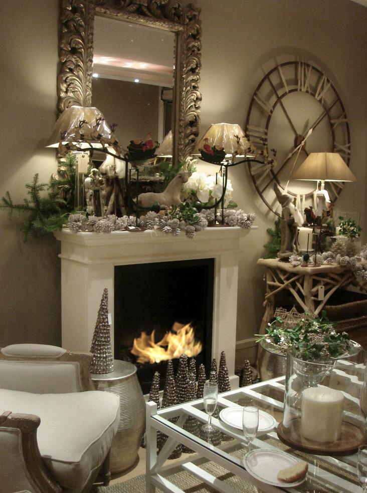 27 Christmas Fireplace Mantel Decoration Ideas Interior God