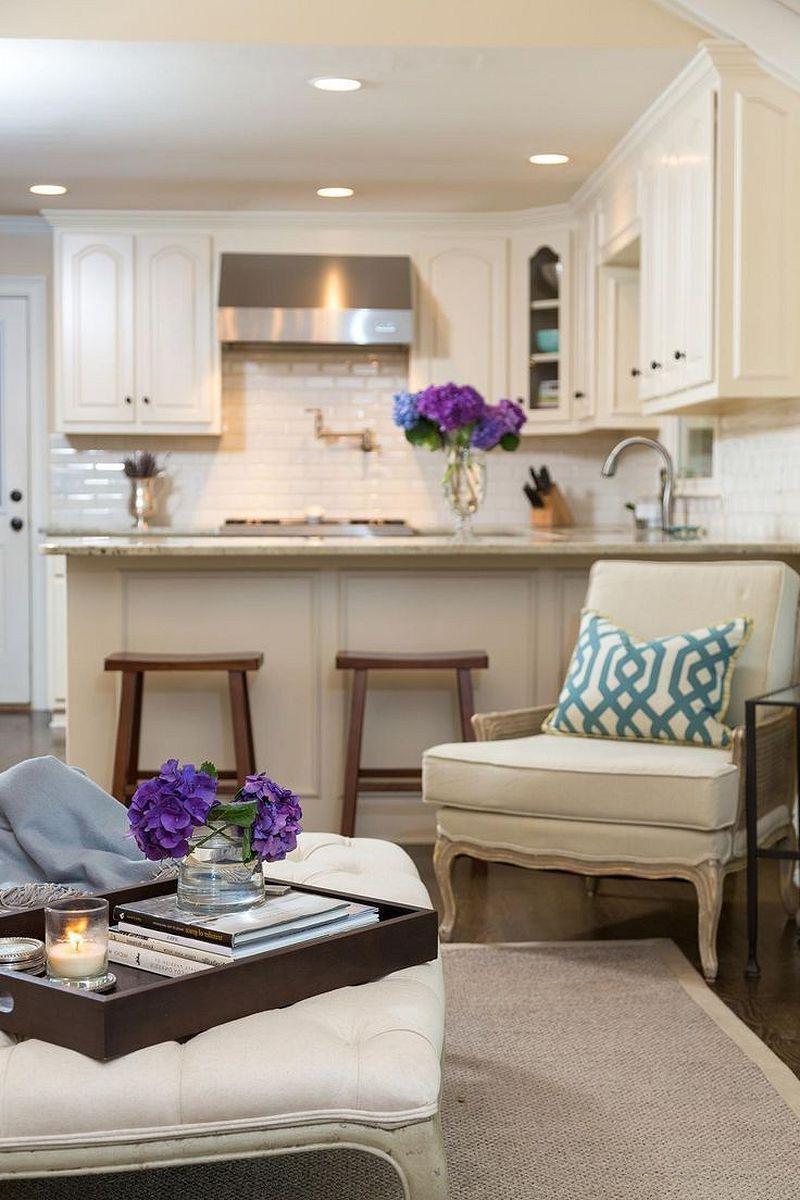 27 Incredible Open Plan Kitchen Living Room Design Ideas