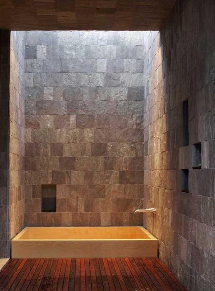 27 Incredible Raw Stone Bathroom Design Ideas Interior God