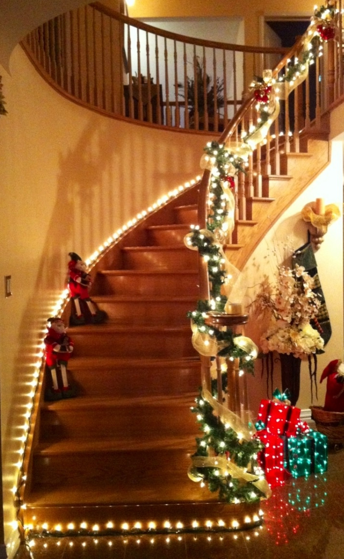 282 Best Christmas Windows Walls Stairs Decor Images