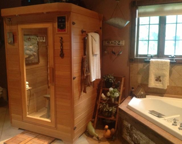 2nd Floor Bathroom Sauna Bathroom Home Goods Sauna