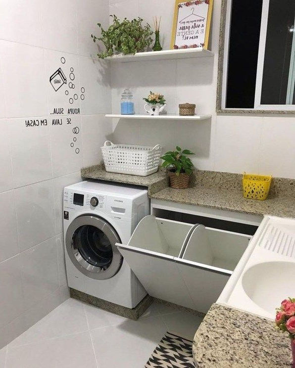 30 Charming Small Laundry Room Design Ideas For You