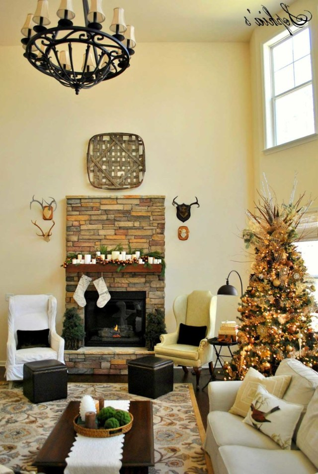 30 Christmas Decoration For Living Room Inspirations Flawssy
