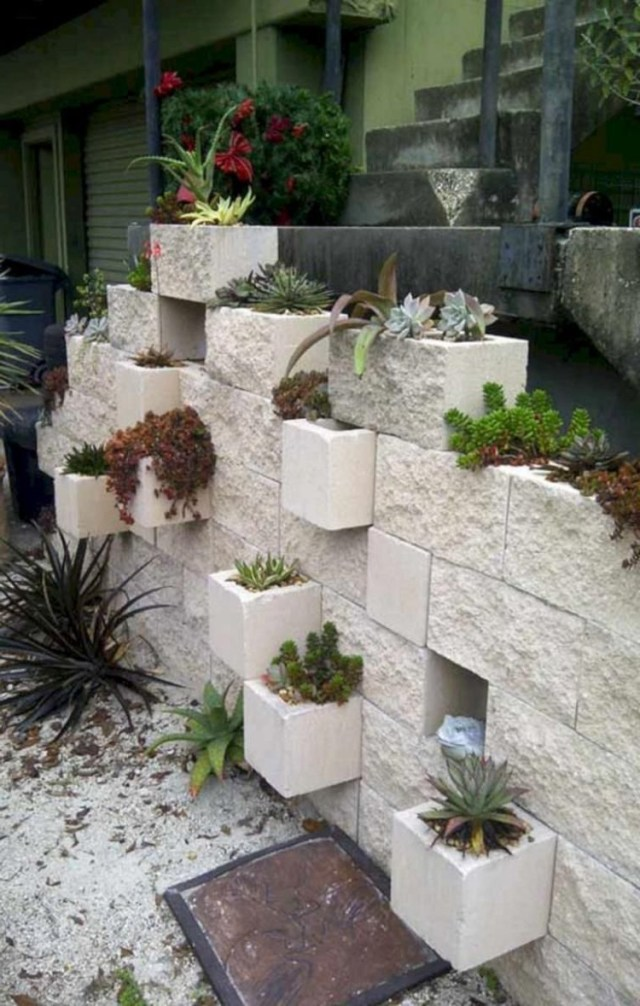30 Creative And Beautiful Cinder Block Ideas For Your Home