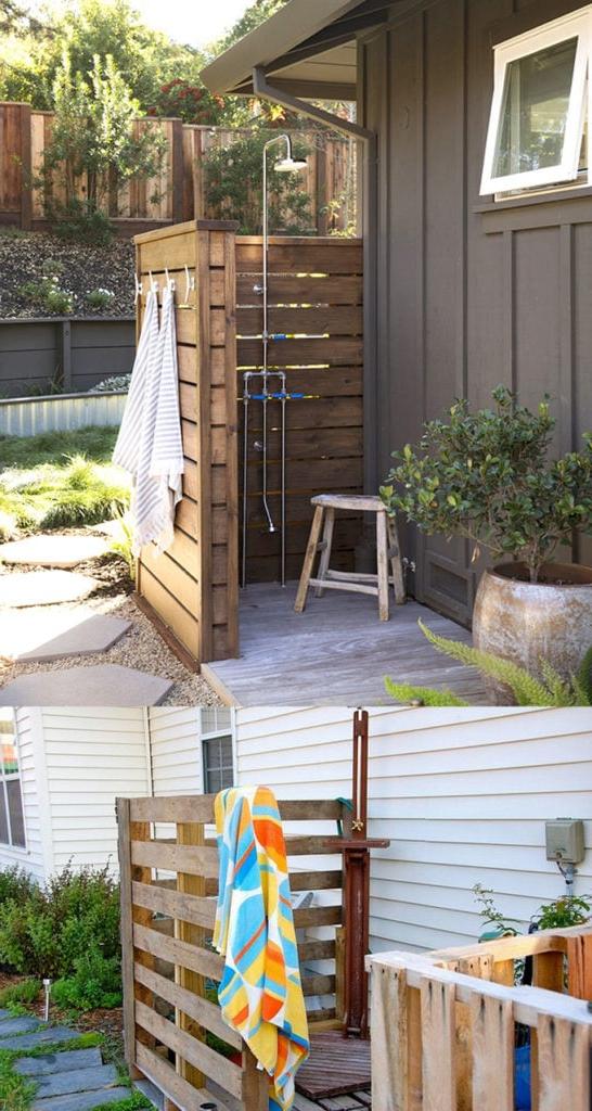 32 Beautiful Easy Diy Outdoor Shower Ideas A Piece Of