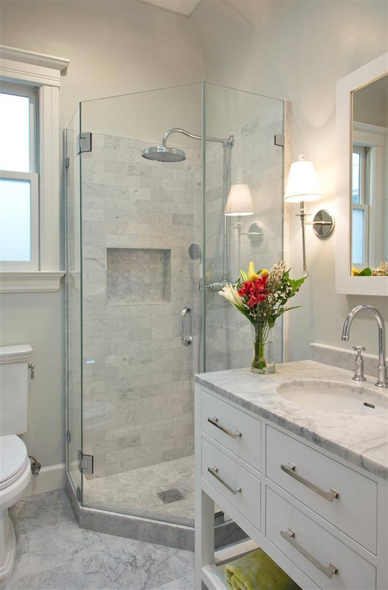 32 Small Bathroom Design Ideas For Every Taste Bathroom Design Small Bathroom Remodel Master