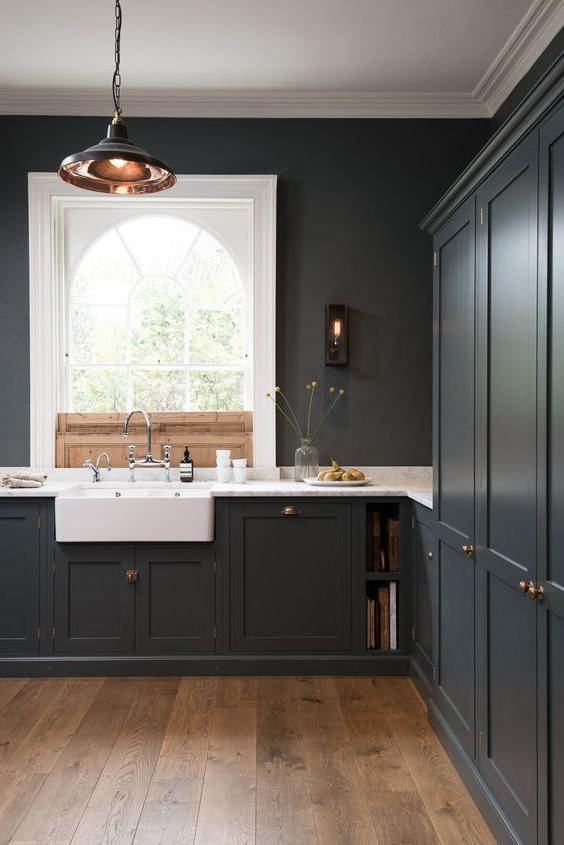33 Amazing Black Kitchen Design Ideas To Rock Interior God