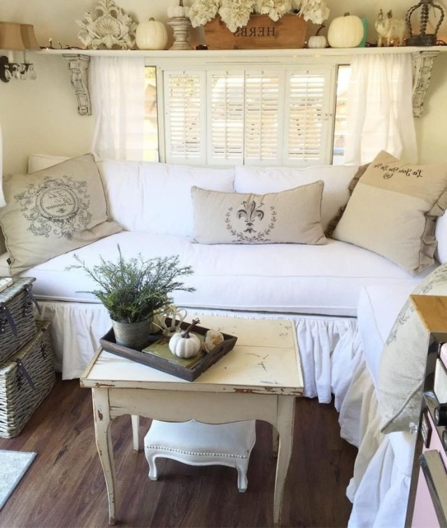 33 Best Modern Rustic Farmhouse Rv Makeover Interior And