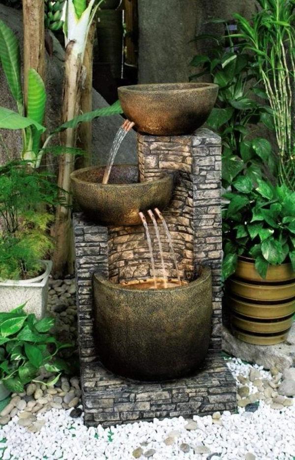 34 Unique Garden Fountain Designs Beautifying The Look