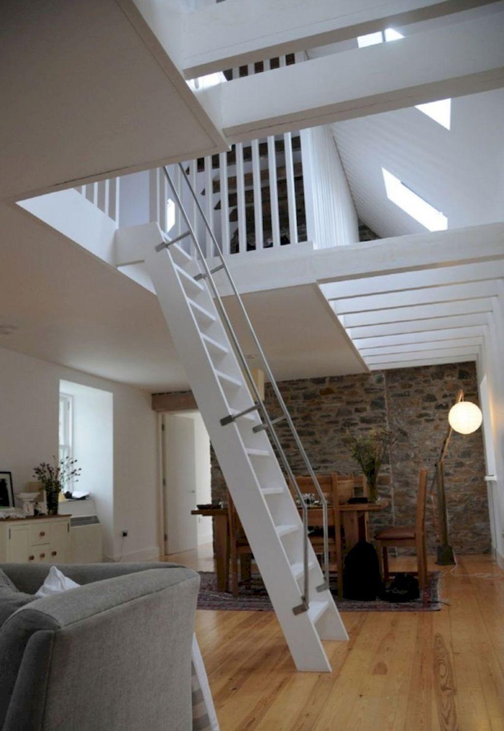 35 Amazing Loft Stair For Tiny House Ideas Tiny House
