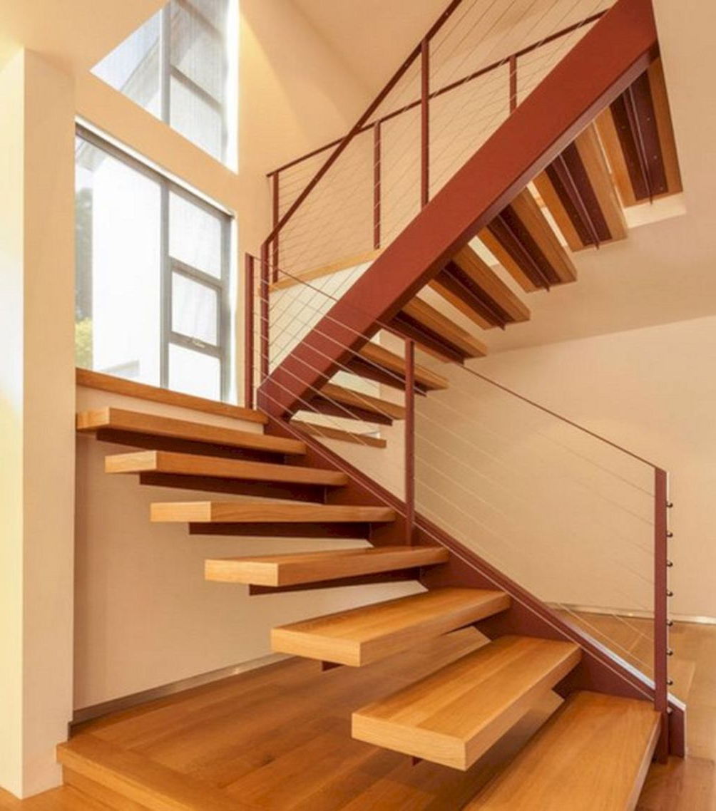 35 Amazing Staircase Design Ideas For Small Home With