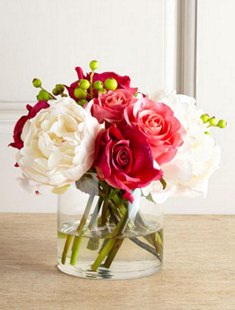 35 Beautiful Valentine Floral Arrangements Ideas For Your