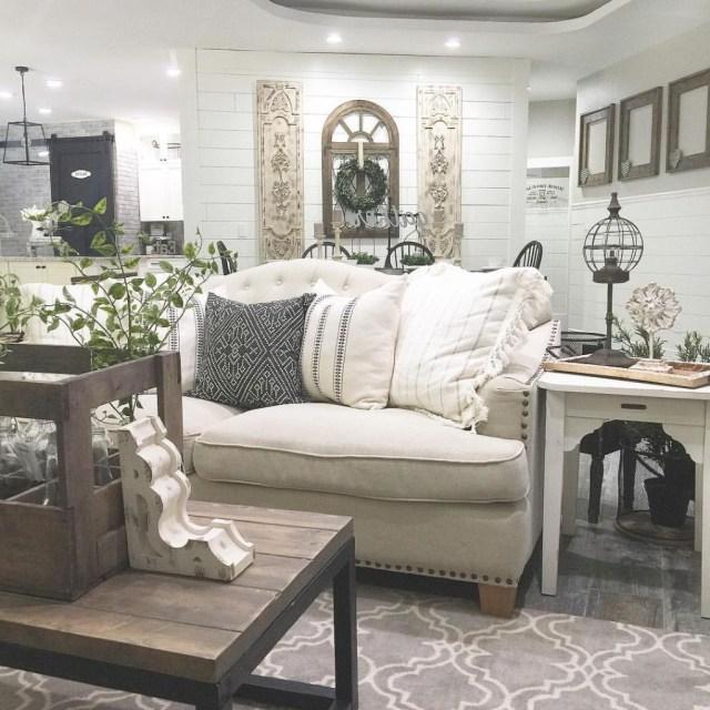 35 Best Modern Farmhouse Living Room Decor Ideas With