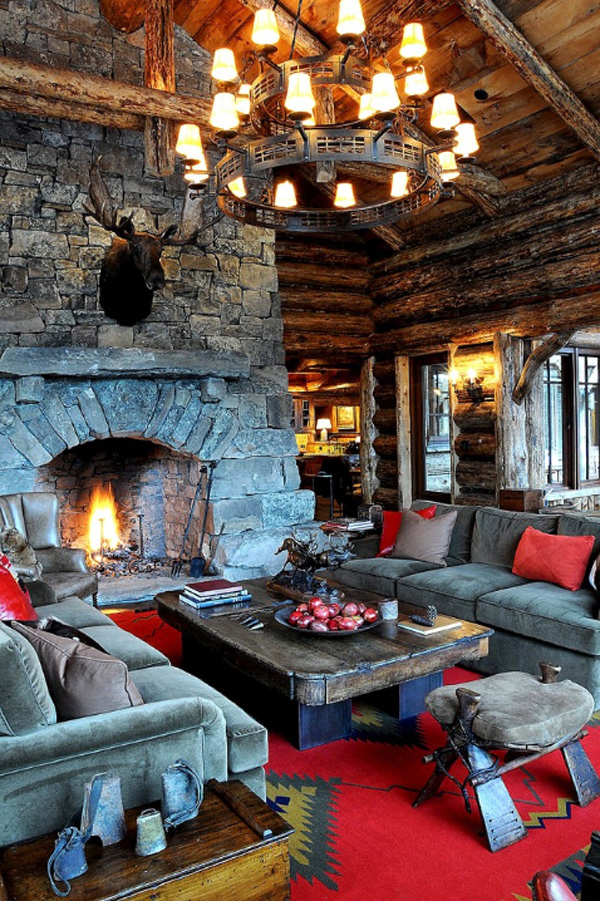 35 Classy Rustic Living Room Design Ideas Interior Vogue