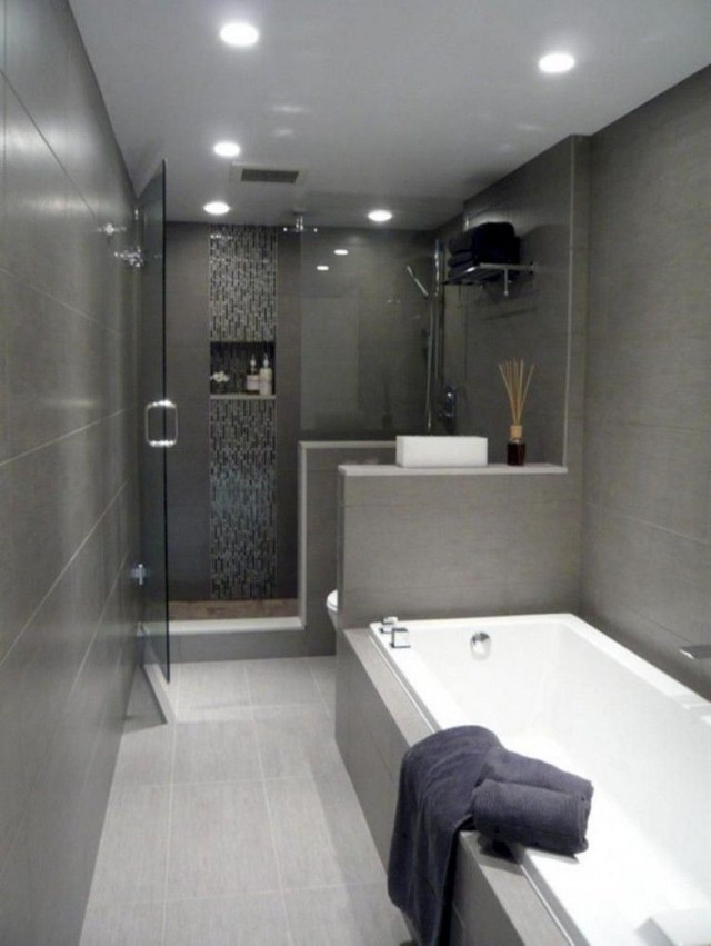 35 Incredible Urban Modern Bath Decoration Trending This