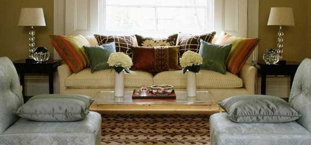 35 Modern Living Room Decorating Ideas With Accent Pillows