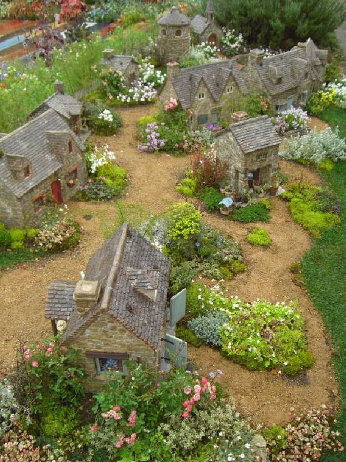 35 Most Magical Fairy Village Garden Ideas That You