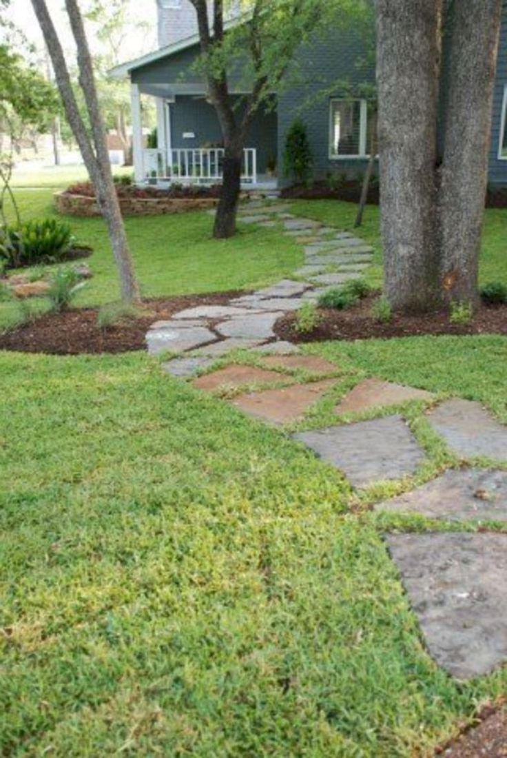 36 Simple And Beautiful Front Yard Pathways Landscaping