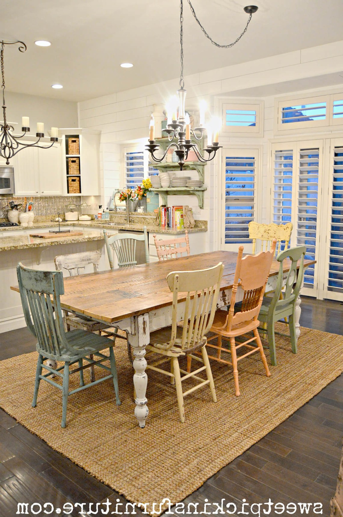 37 Best Farmhouse Dining Room Design And Decor Ideas For 2020