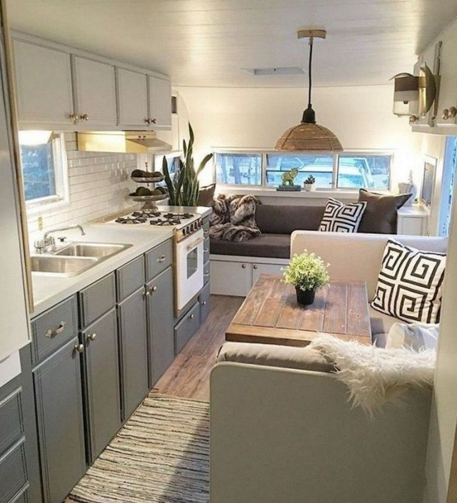 39 Lovely Camper Remodel And Renovation Ideas Remodeled