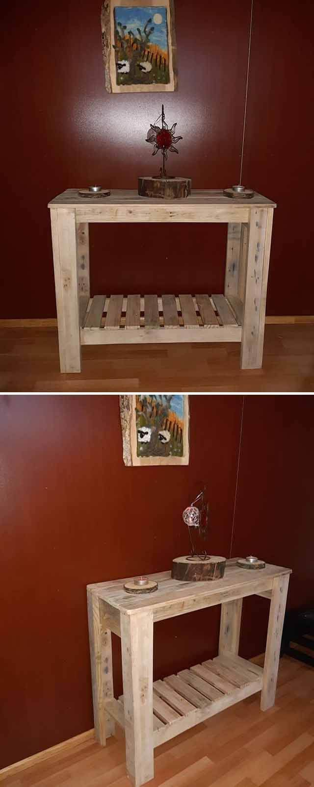 40 Beautiful Pallet Ideas Made From Old Wood With Images
