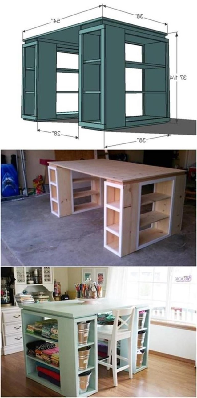 40 Best Small Craft Room And Sewing Room Design Ideas On A