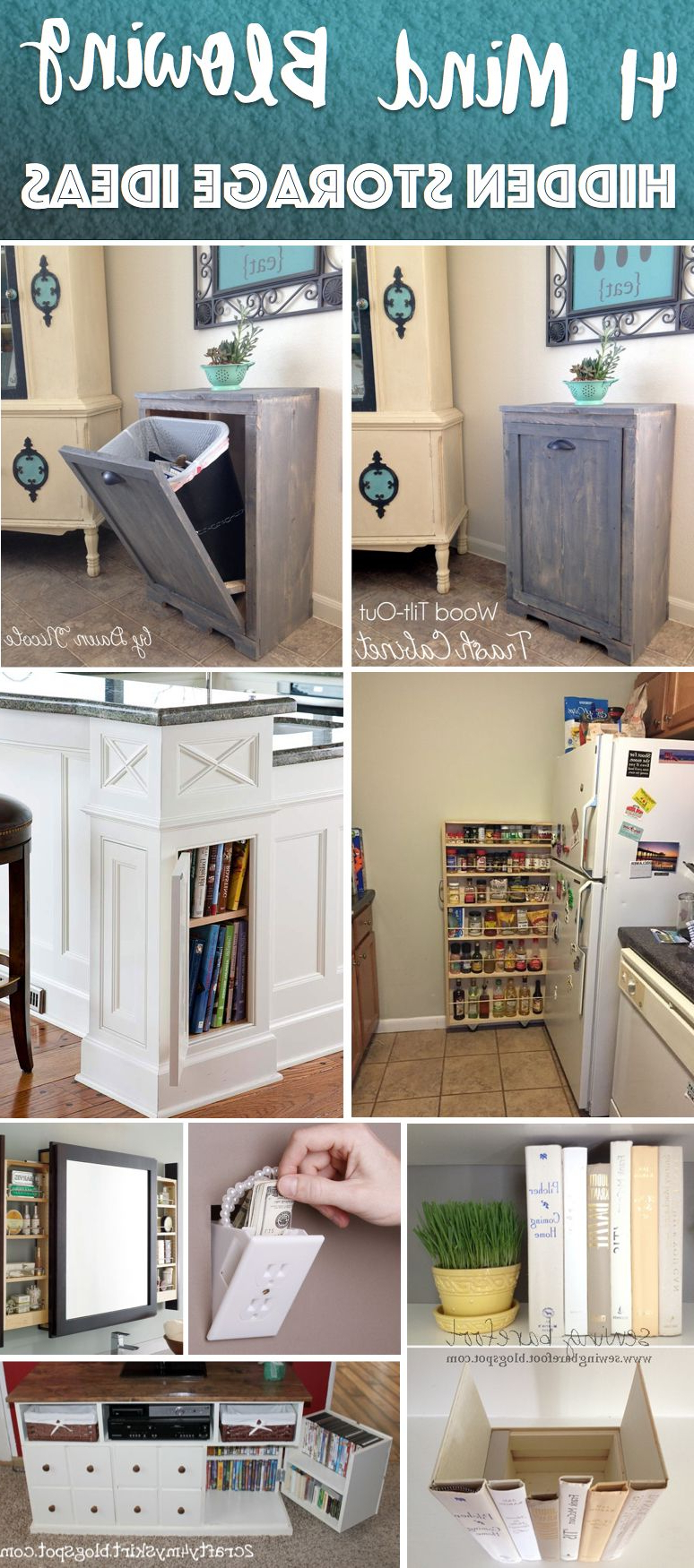 41 Mind Blowing Hidden Storage Ideas Making A Clever Use