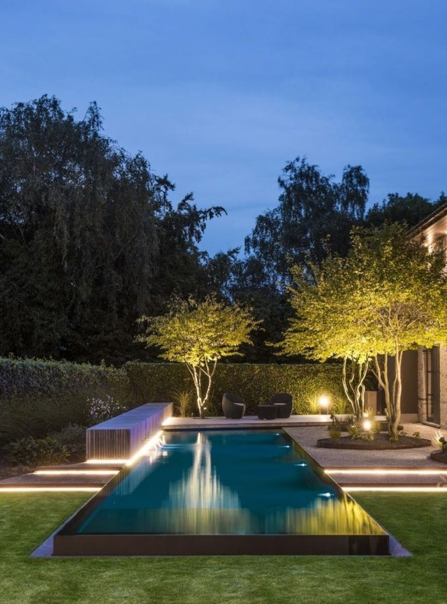 43 Cozy Swimming Pool Garden Design Ideas With Images