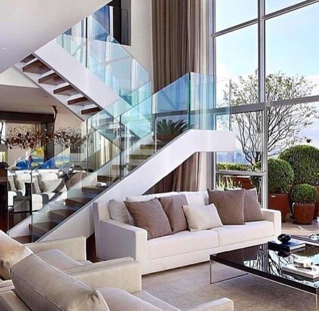 43 Elegant Glass Stair Design Ideas Stairs Design Home