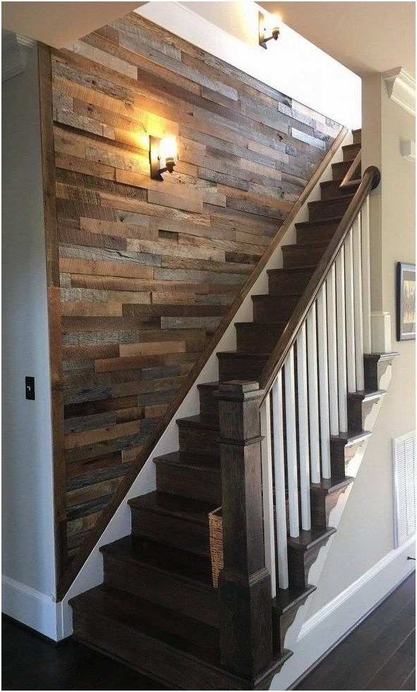 44 Farmhouse Wall Decor Ideas You Must Have 6 Staircase
