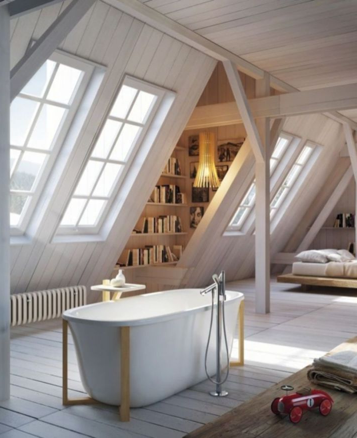 45 Amazing Attic Bedroom Ideas On A Budget Attic