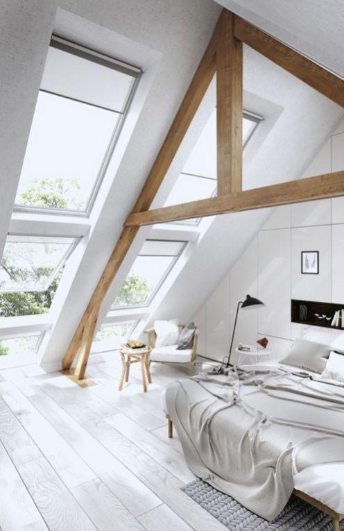 45 Amazing Attic Bedroom Ideas On A Budget Loft Spaces