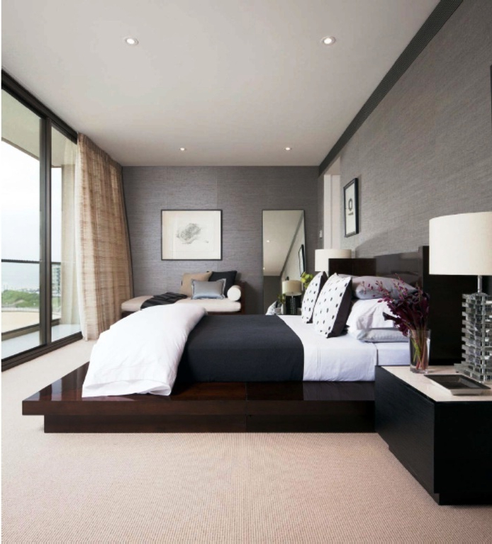 45 Smart And Minimalist Modern Master Bedroom Design
