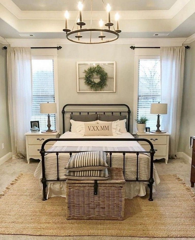 46 Amazing Magnolia Homes Bedroom Design Ideas For